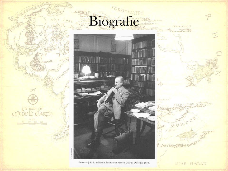 John Ronald Reuel Tolkien * 3.Januar 1892 in Bloemfontein (Oranje- Freistaat), † 2.