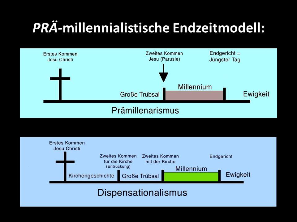 PRÄ-millennialistische Endzeitmodell: