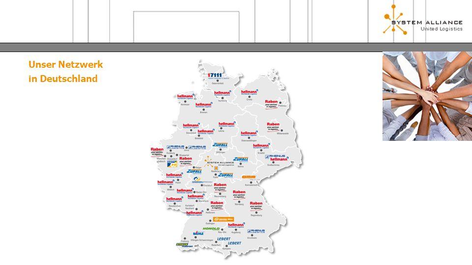 Unser Netzwerk in Deutschland