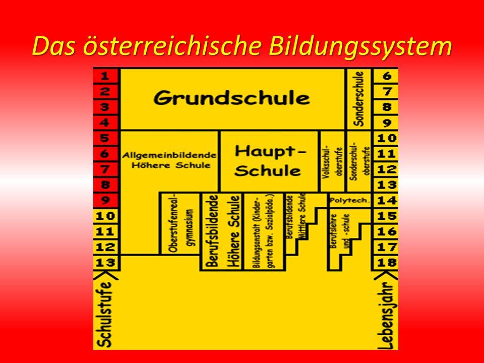Das österreichische Bildungssystem