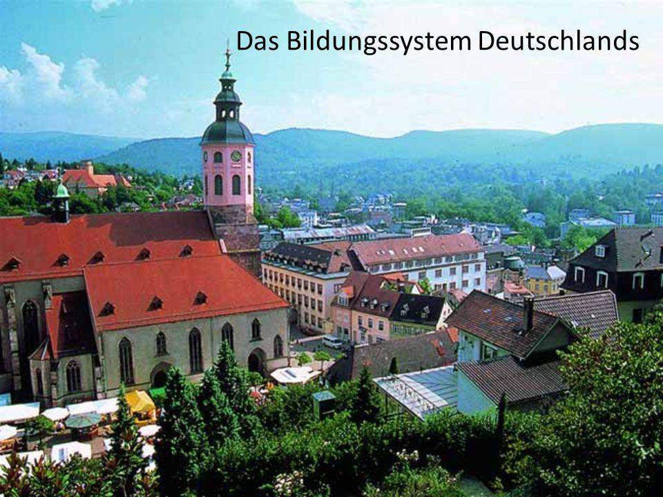 Das Bildungssystem Deutschlands