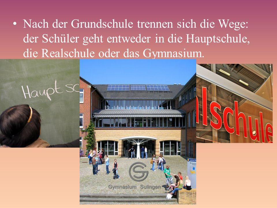 Es gibt Schulen, die fremdsprachig geführt sind.