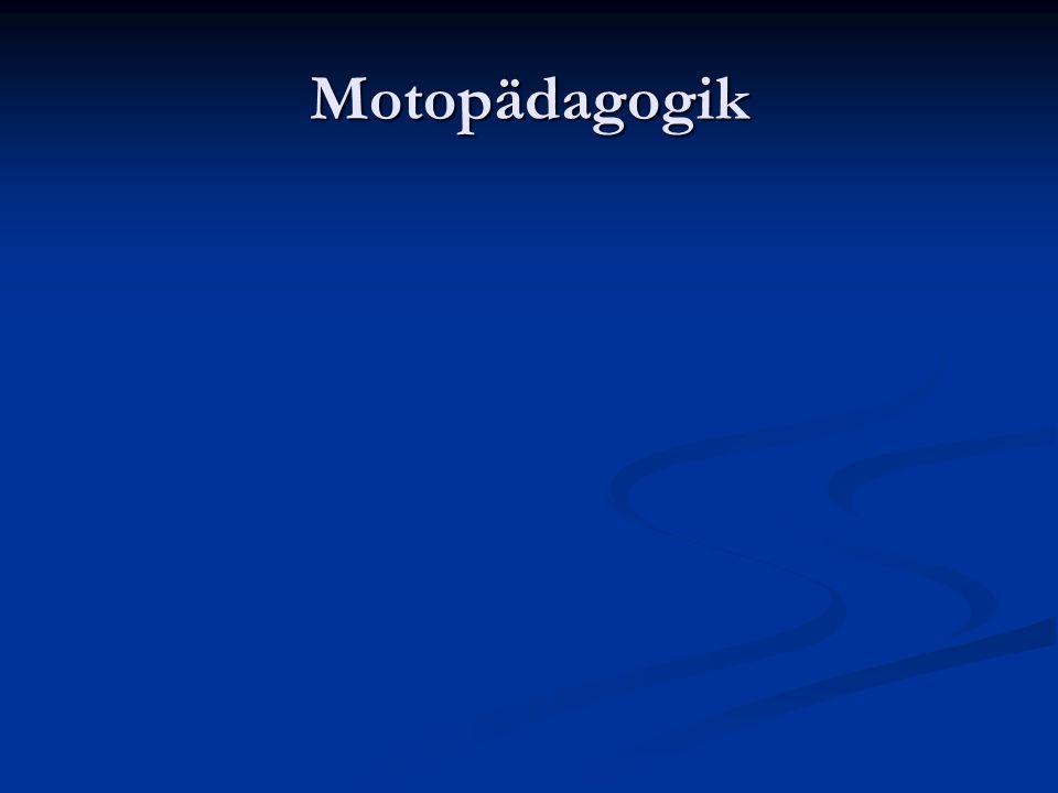 Motopädagogik