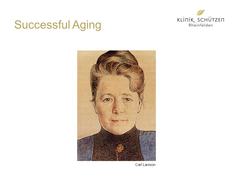 Successful Aging Carl Larsson