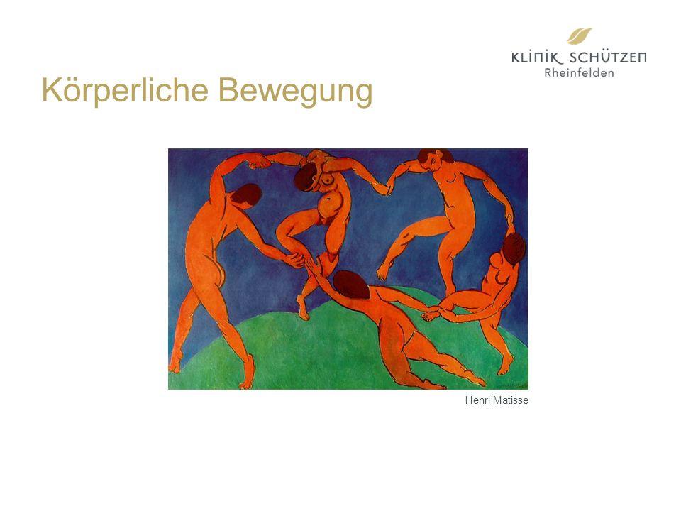 Körperliche Bewegung Henri Matisse