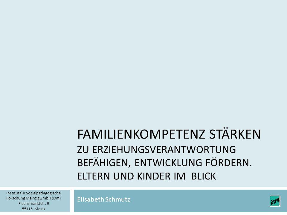 Gliederung 2  Grundsätzliches zu Elternschaft heute  Elternschaft in belasteten Lebenslagen  Gesundes Aufwachsen und Familienkompetenz  Erziehungskompetenz entwickeln, zur Übernahme von Erziehungsverantwortung befähigen – wie kann das gehen.