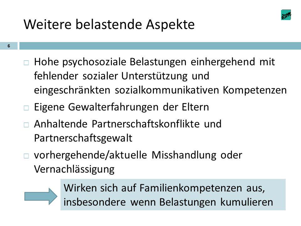 Frühe Hilfen und Familienbildung als Beitrag zur Stärkung von Familienkompetenz 17