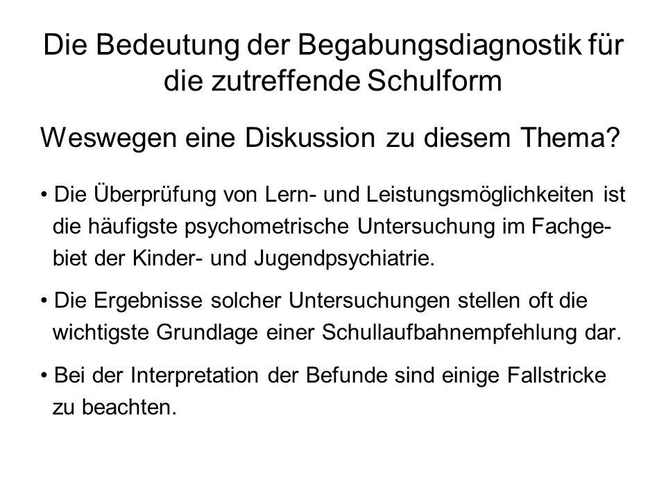 Falsche Bewertung tatsächlicher Lern- und Leistungsmöglichkeiten Soziale Entwicklung: 3 Lj.