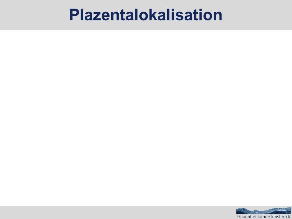 Plazentalokalisation