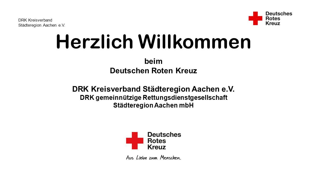 DRK Kreisverband Städteregion Aachen e.V.Flüchtlingshilfe Der DRK-KV Städteregion Aachen e.V.