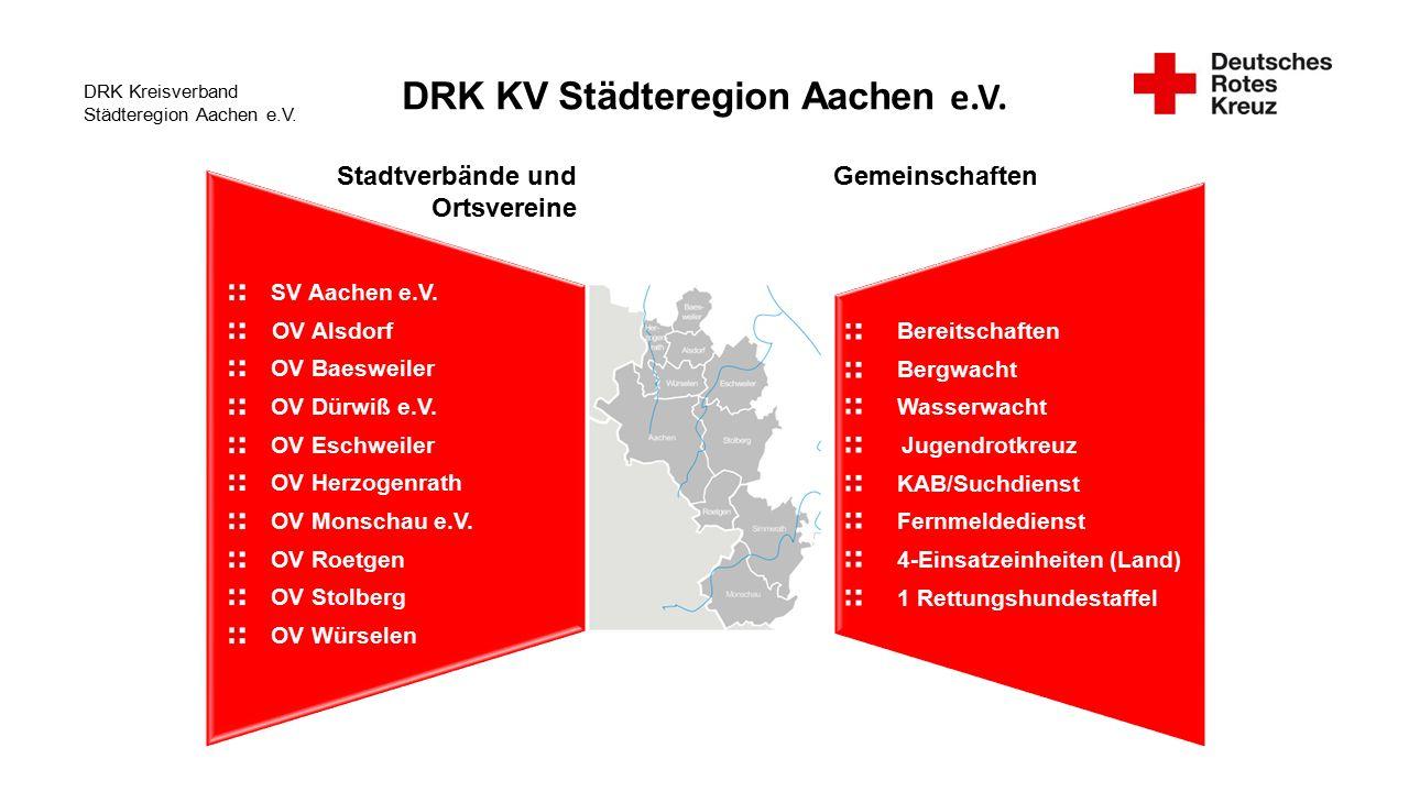 DRK Kreisverband Städteregion Aachen e.V.SV Aachen e.V.