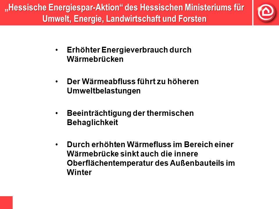"""Hessische Energiespar-Aktion"""" des Hessischen Ministeriums für Umwelt, Energie, Landwirtschaft und Forsten """"Hessische Energiespar-Aktion"""" des Hessische"""