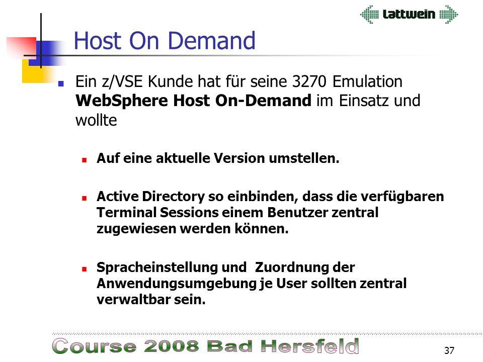 36 SET SDL,... nicht nur im BG ! Seit VSE/ESA 2.6 gilt (Siehe Release Guide): 2.3.2 Enhancement to the SET SDL Command The restriction that the SET SD