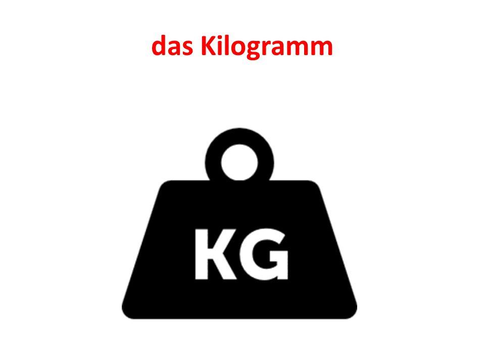 das Kilogramm