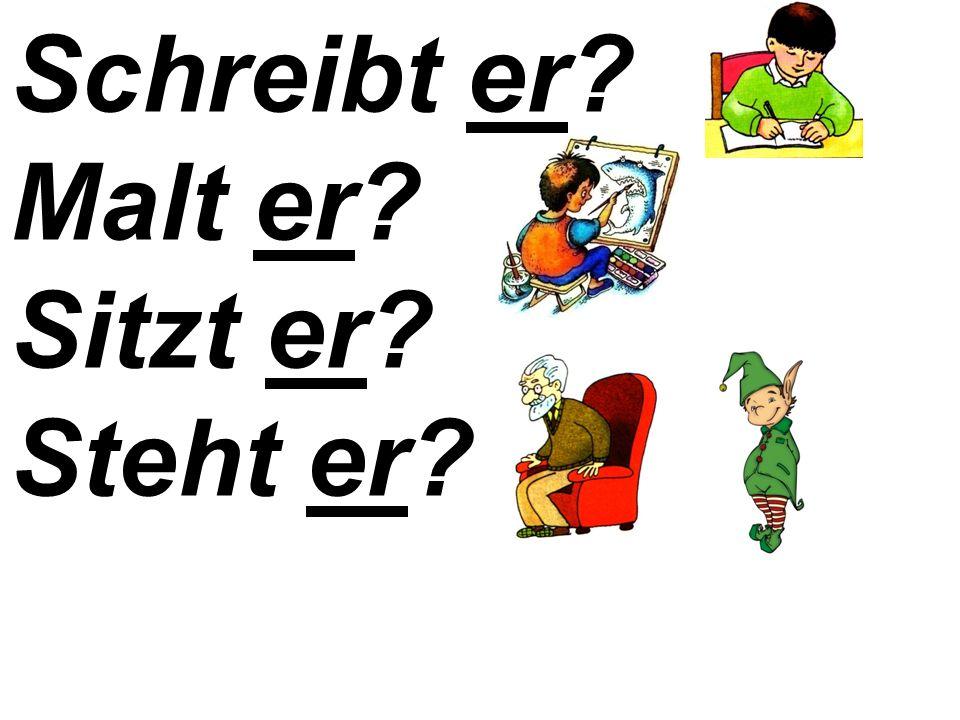 Übung 3. Переспросите, как в образце: Die Kinder tanzen.