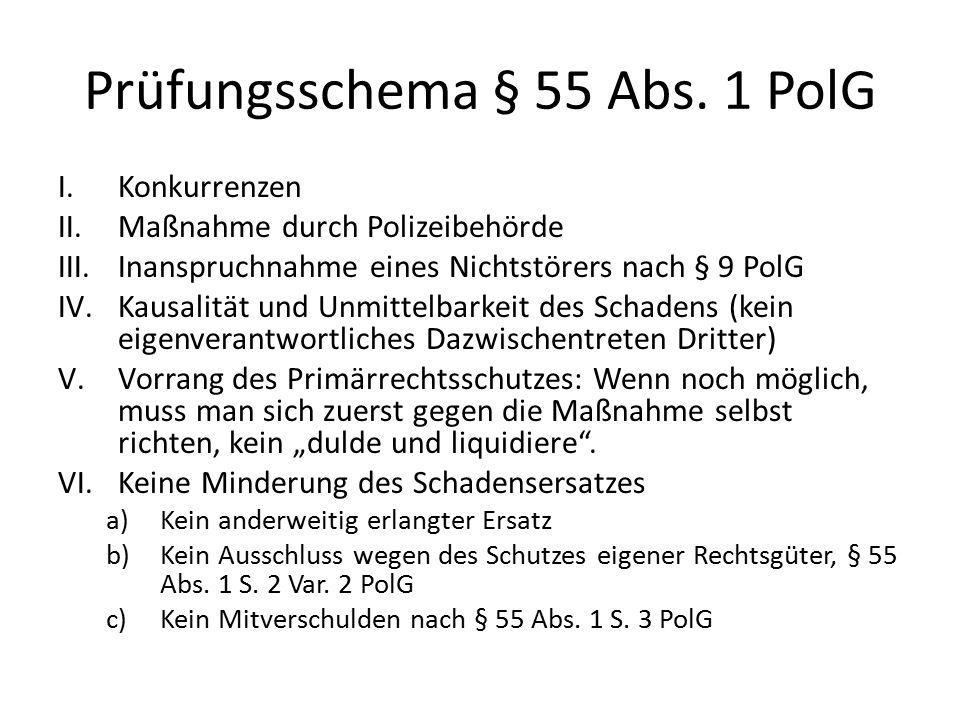 Prüfungsschema § 55 Abs.