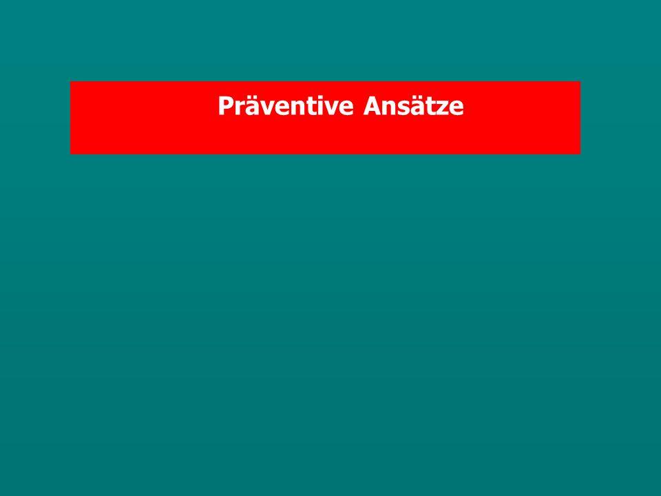 Präventive Ansätze
