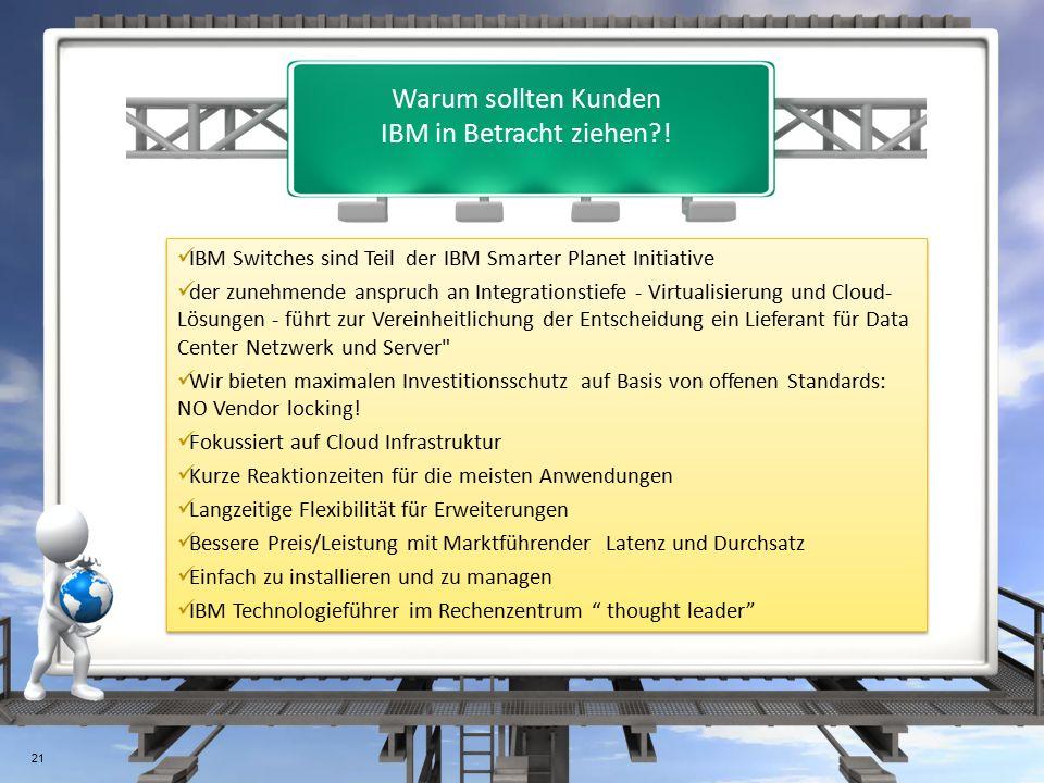 Warum sollten Kunden IBM in Betracht ziehen .