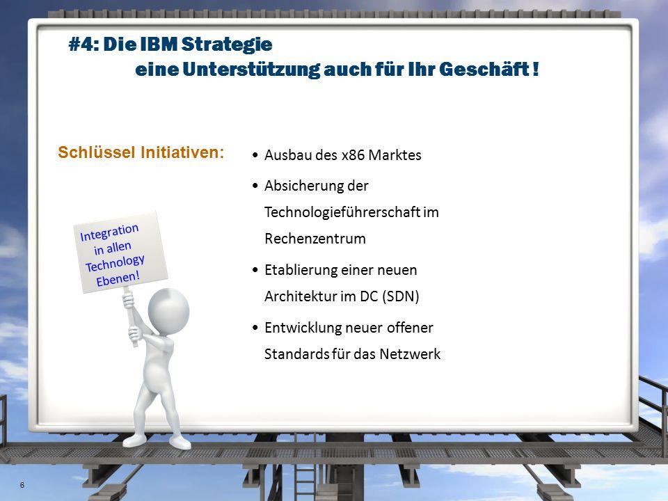Tech #1: Evolution im Rechenzentrum Use IBM to manage the DC CampusData Center 7