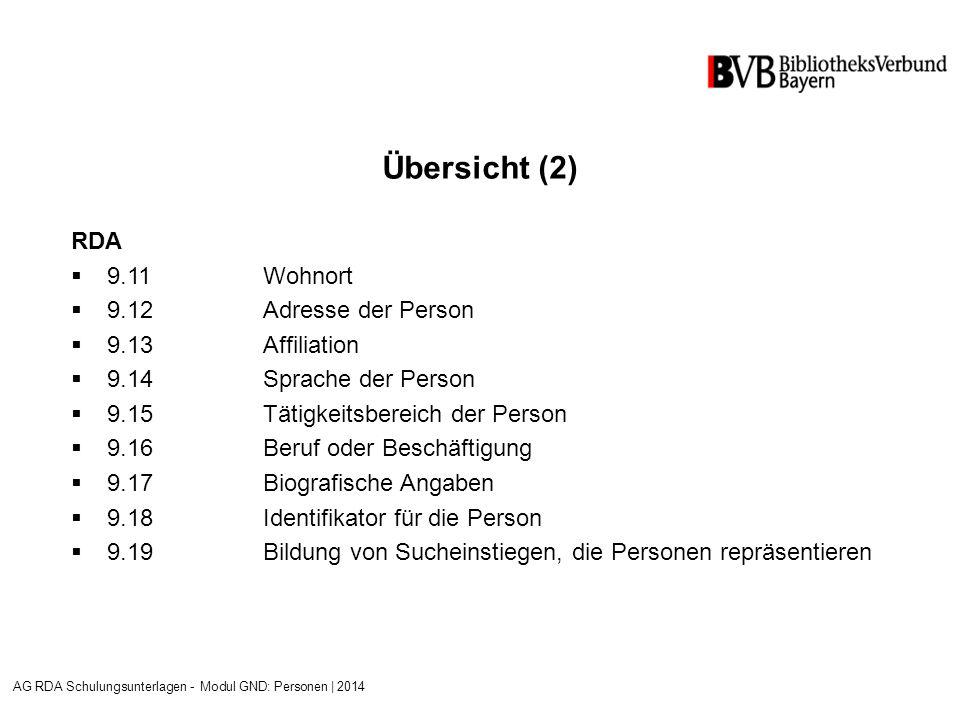 Beispiel: Kalman, Anna [Sammelpseudonym] Mühlfeld, Christiane [Abweichender Name] Siekmann, Jutta [Abweichender Name] AG RDA Schulungsunterlagen - Modul GND: Personen   2014