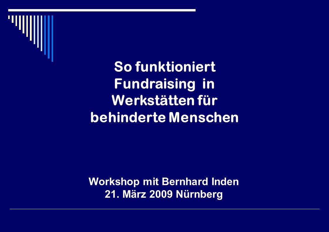 Workshop mit Bernhard Inden 21.