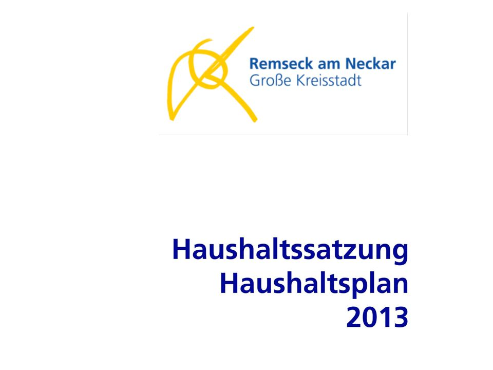Haushaltsplan 2013 Seite 0