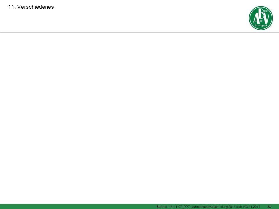 9. Anträge aus der Mitgliedschaft 03.11.2014Barthel | 14-11-07_PPT_Jahreshauptversammlung 2014.pptx |37