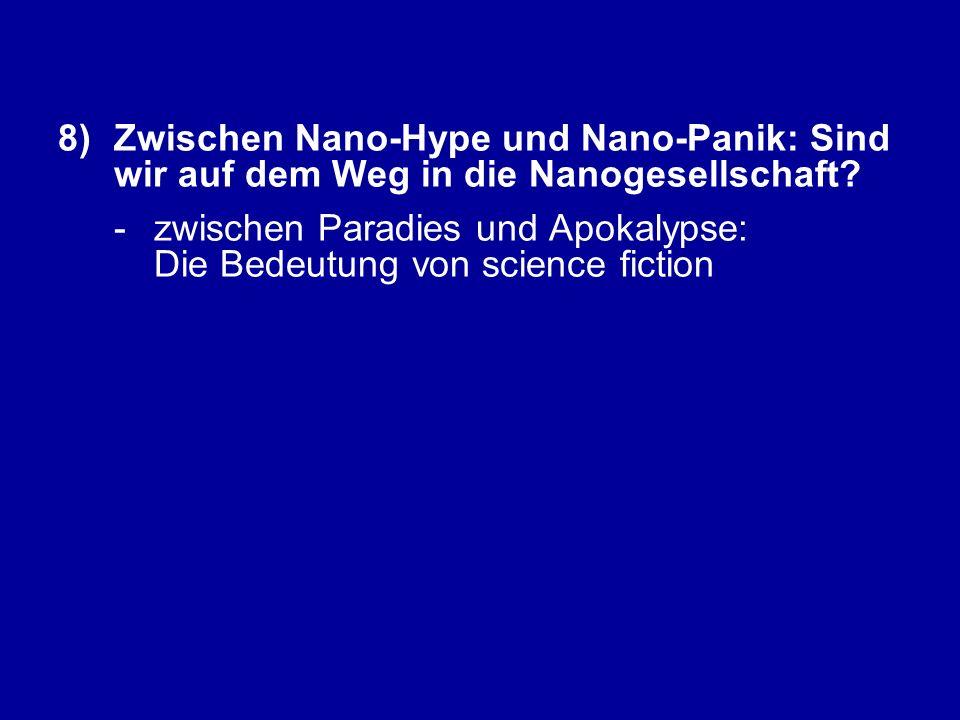 -zwischen Paradies und Apokalypse: Die Bedeutung von science fiction