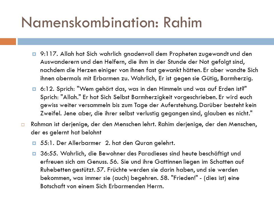 Namenskombination: Rahim  9:117.