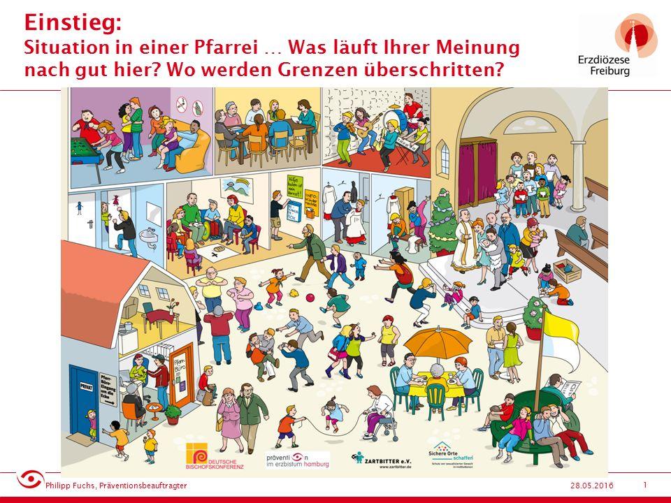 2 Grenzverletzende Situationen (1) Philipp Fuchs, Präventionsbeauftragter 28.05.2016