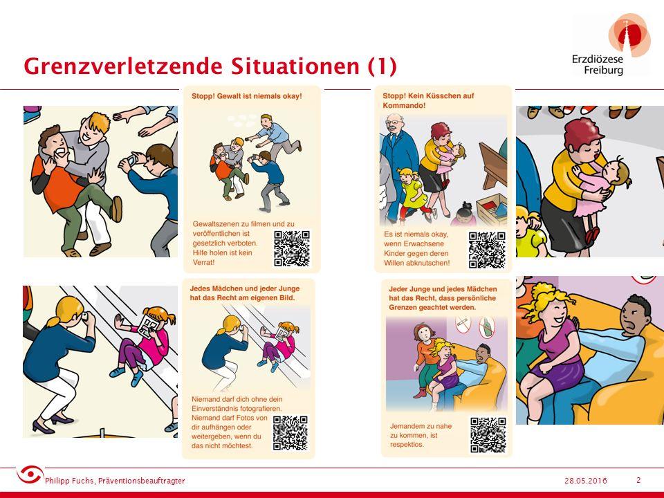 13 Sichere Orte – Standards (1) 28.05.2016 Philipp Fuchs, Präventionsbeauftragter