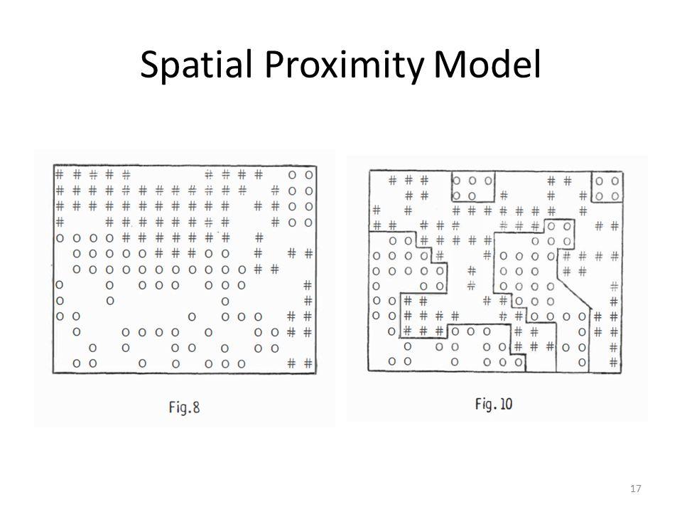 Spatial Proximity Model 17