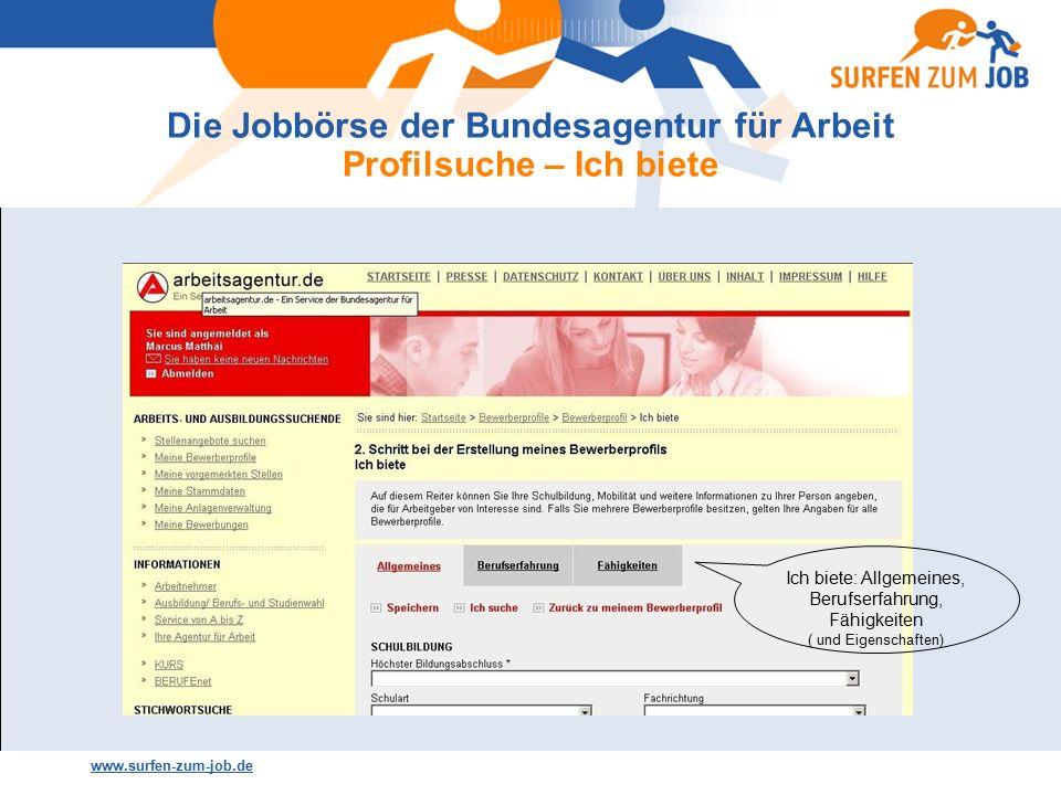 agentur job börse