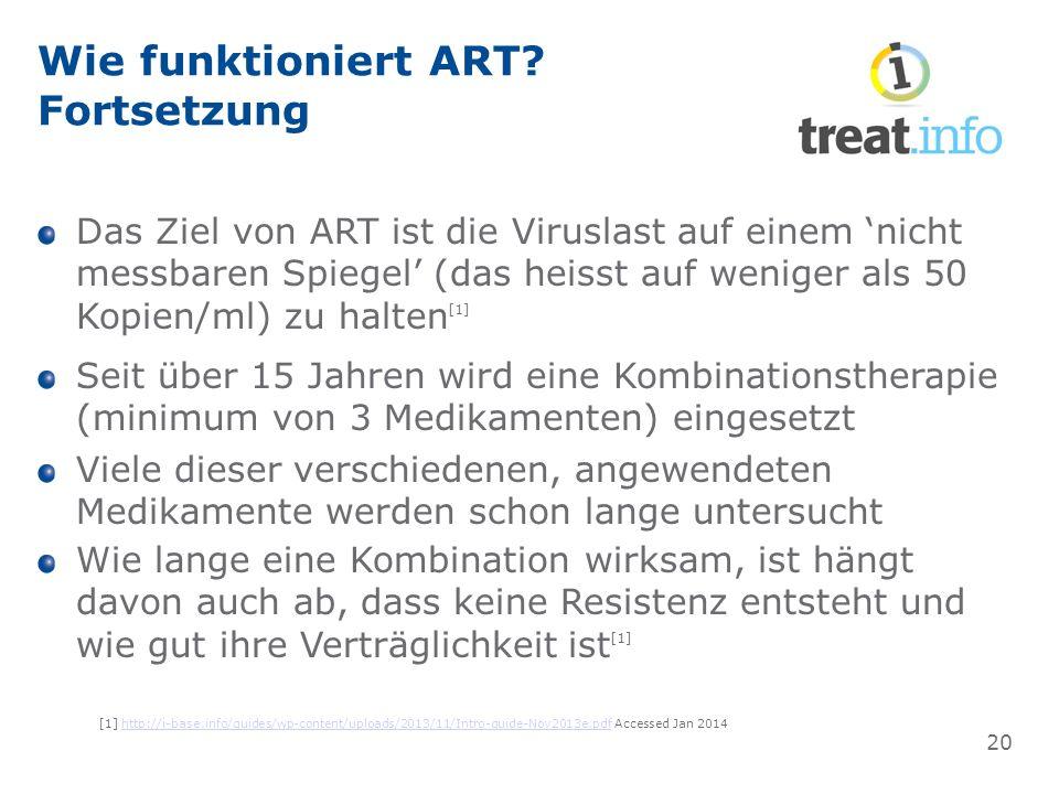 Wie funktioniert ART.