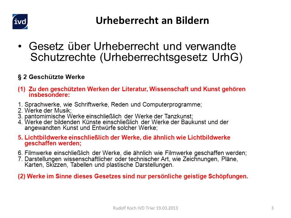 Gesetz über Urheberrecht und verwandte Schutzrechte (Urheberrechtsgesetz UrhG) § 2 Geschützte Werke (1)Zu den geschützten Werken der Literatur, Wissen