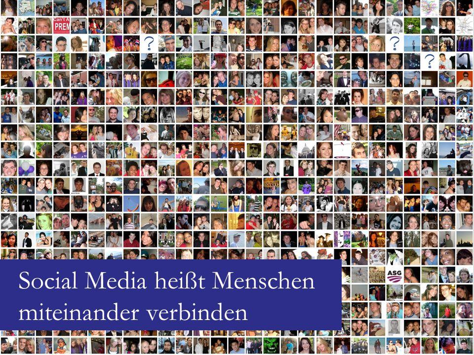 Überschrift 22pt Sub-Überschrift 20 pt Social Media heißt Menschen miteinander verbinden 15