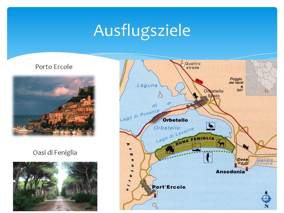 Ausflugsziele Porto Ercole Oasi di Feniglia