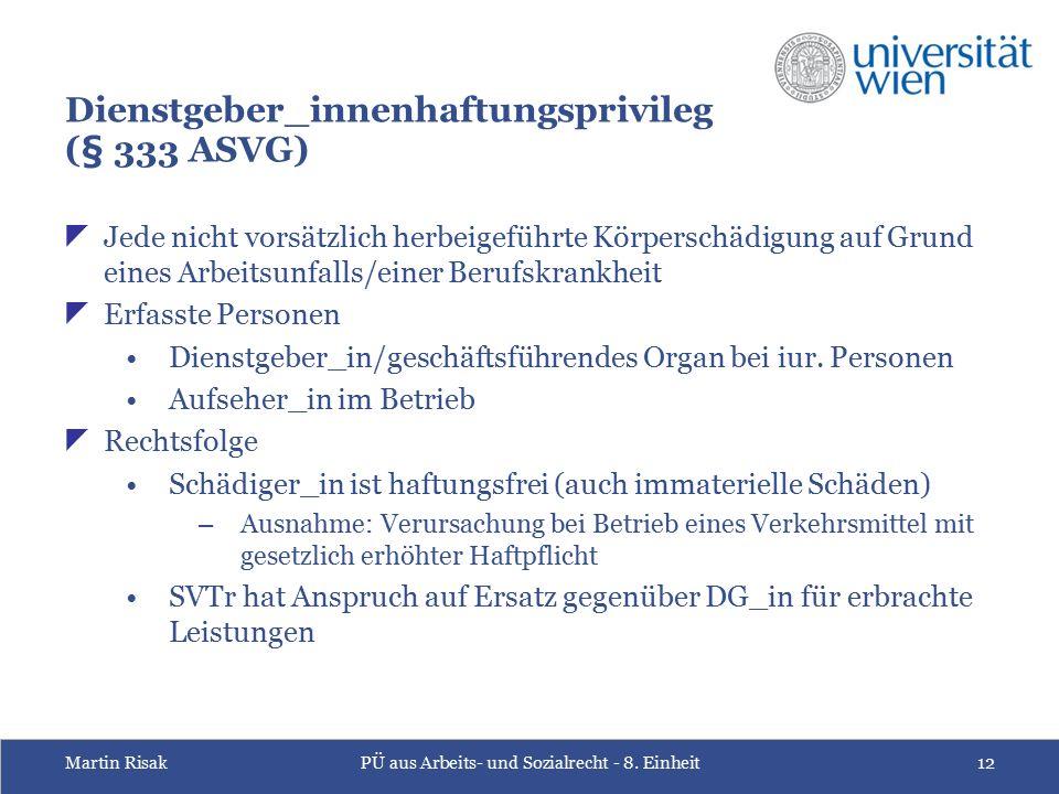 Martin RisakPÜ aus Arbeits- und Sozialrecht - 8.