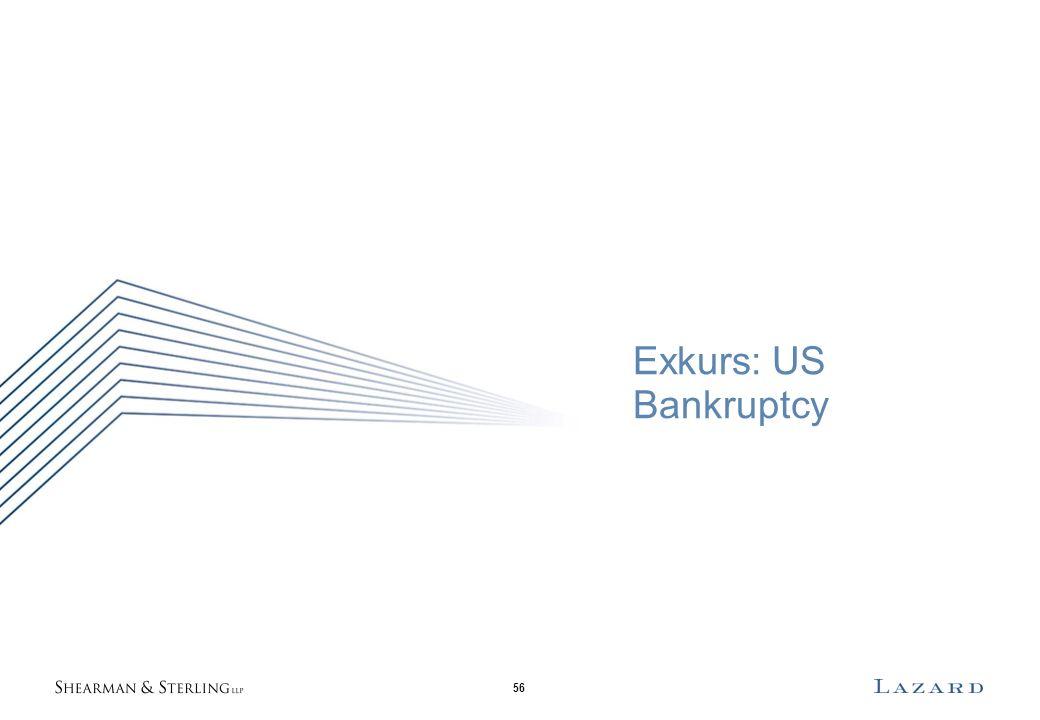 56 Exkurs: US Bankruptcy