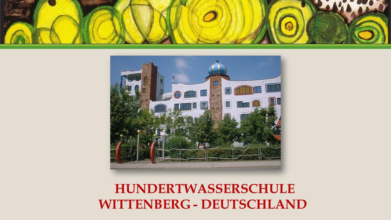 HUNDERTWASSERSCHULE WITTENBERG - DEUTSCHLAND