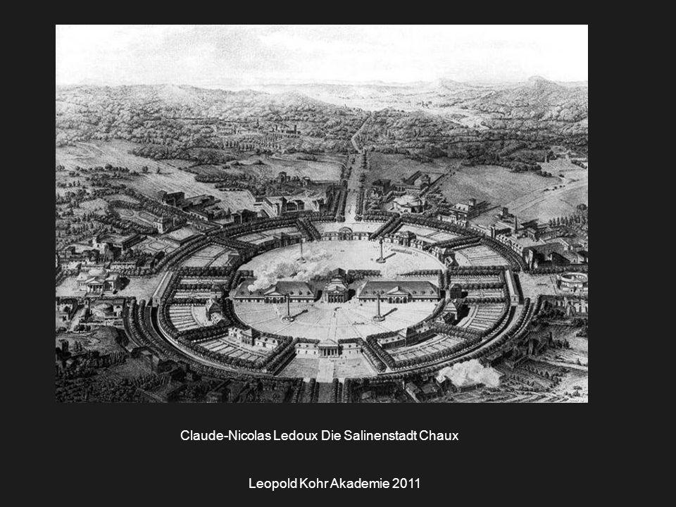 Claude-Nicolas Ledoux Die Salinenstadt Chaux