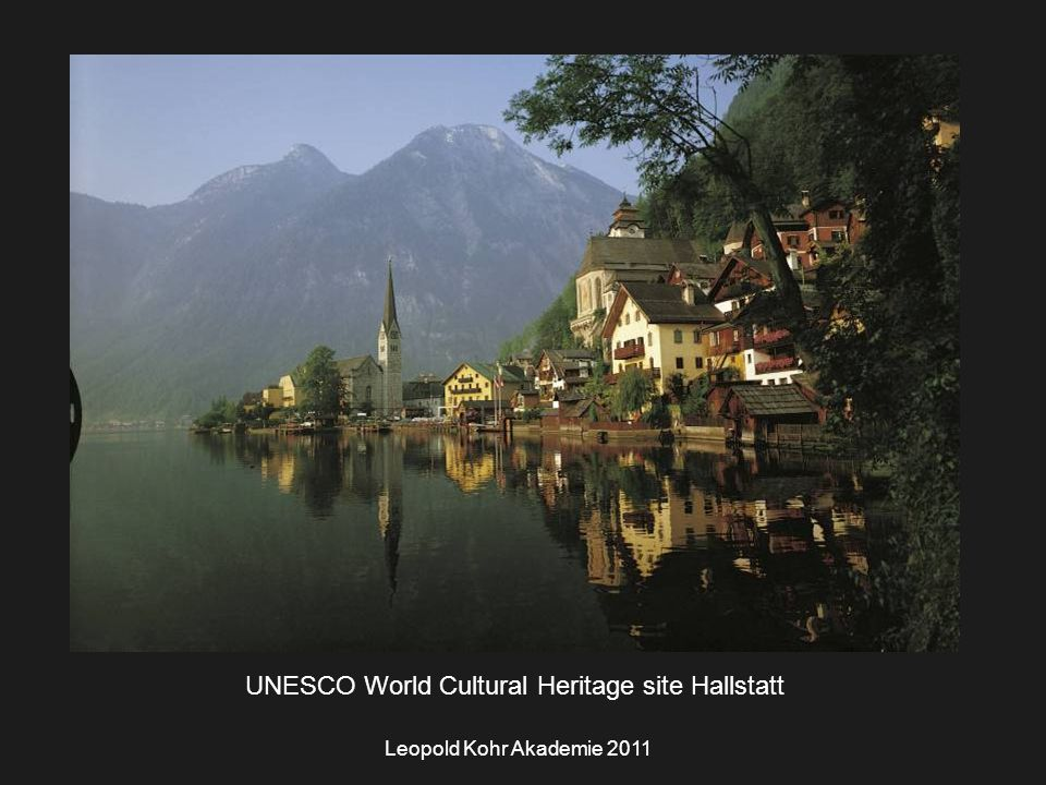 UNESCO World Cultural Heritage site Hallstatt