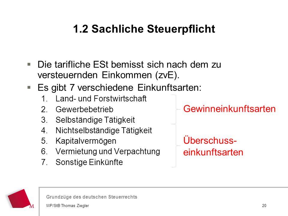 Hier wird der Titel der Präsentation wiederholt (Ansicht >Folienmaster) Grundzüge des deutschen Steuerrechts  Die tarifliche ESt bemisst sich nach de