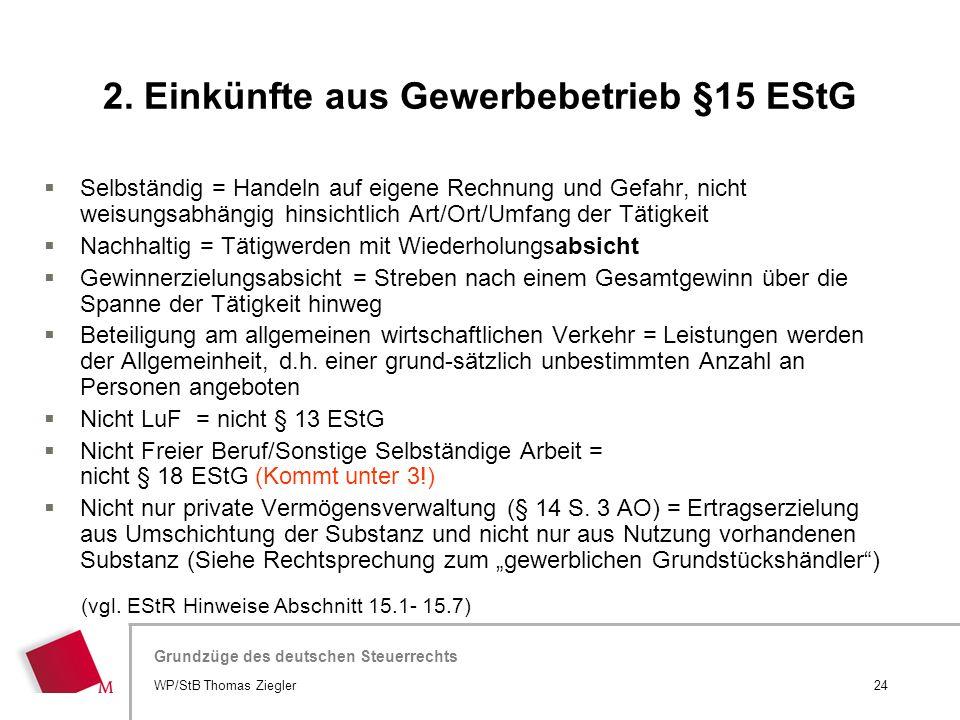 Hier wird der Titel der Präsentation wiederholt (Ansicht >Folienmaster) Grundzüge des deutschen Steuerrechts  Selbständig = Handeln auf eigene Rechnu