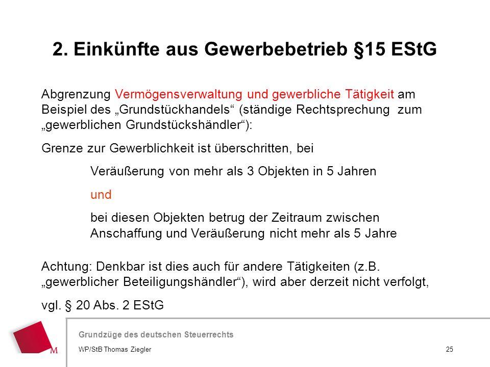 Hier wird der Titel der Präsentation wiederholt (Ansicht >Folienmaster) Grundzüge des deutschen Steuerrechts Abgrenzung Vermögensverwaltung und gewerb