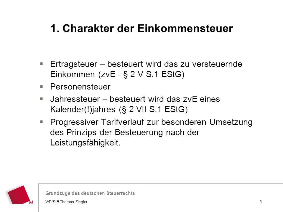 Hier wird der Titel der Präsentation wiederholt (Ansicht >Folienmaster) Grundzüge des deutschen Steuerrechts  Ertragsteuer – besteuert wird das zu ve