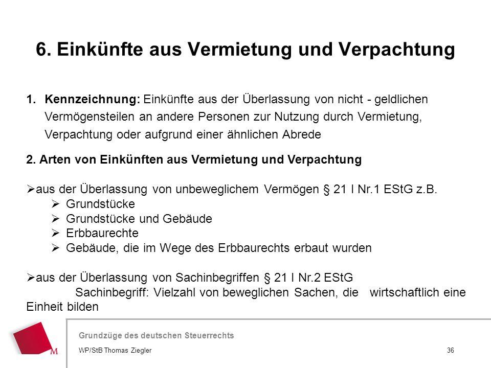 Hier wird der Titel der Präsentation wiederholt (Ansicht >Folienmaster) Grundzüge des deutschen Steuerrechts 1.Kennzeichnung: Einkünfte aus der Überla
