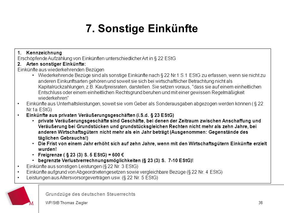 Hier wird der Titel der Präsentation wiederholt (Ansicht >Folienmaster) Grundzüge des deutschen Steuerrechts 1.Kennzeichnung Erschöpfende Aufzählung v