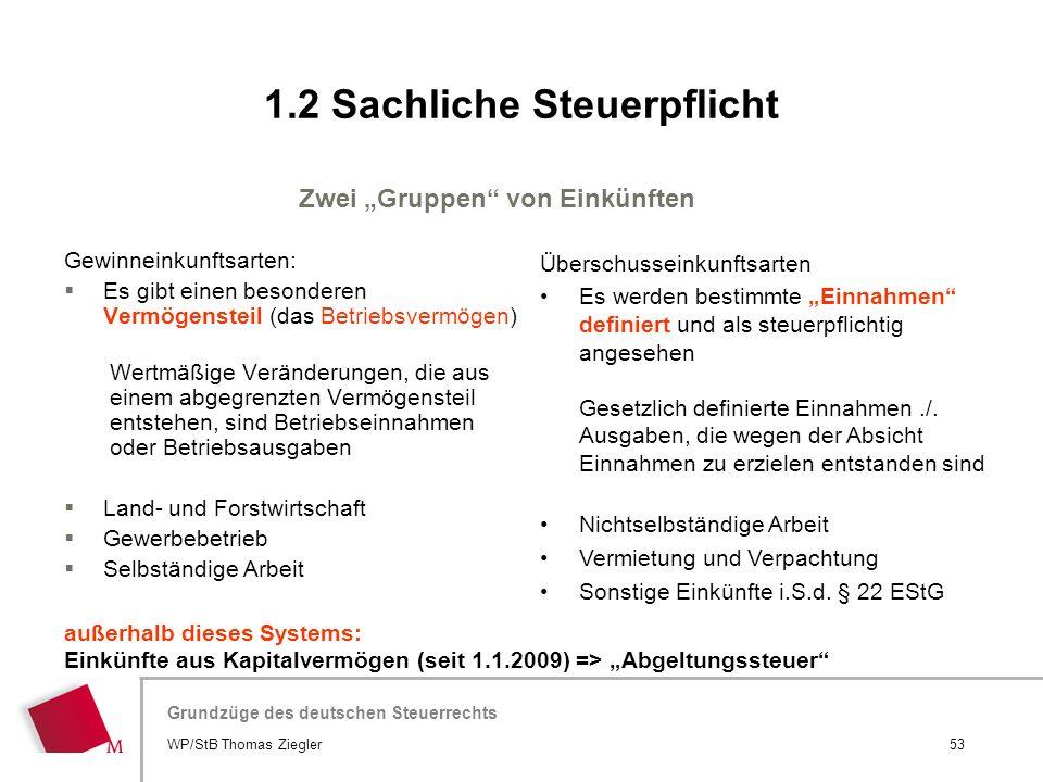 """Hier wird der Titel der Präsentation wiederholt (Ansicht >Folienmaster) Grundzüge des deutschen Steuerrechts Zwei """"Gruppen"""" von Einkünften Gewinneinku"""