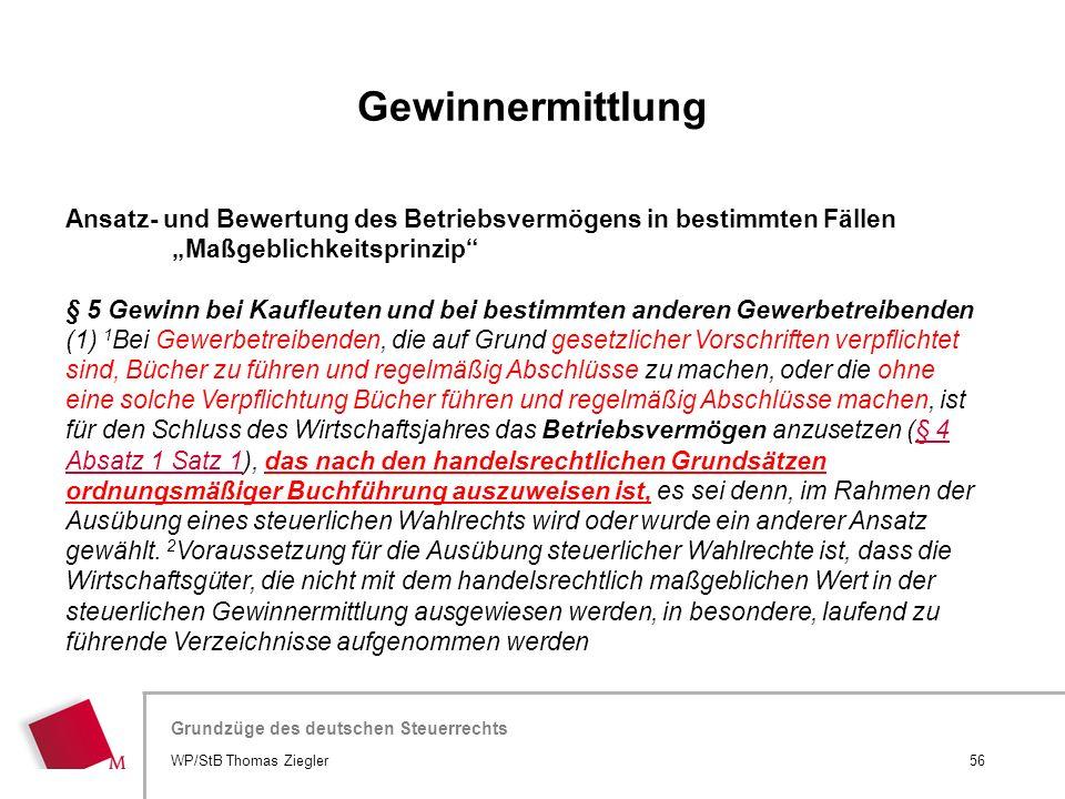 Hier wird der Titel der Präsentation wiederholt (Ansicht >Folienmaster) Grundzüge des deutschen Steuerrechts Ansatz- und Bewertung des Betriebsvermöge